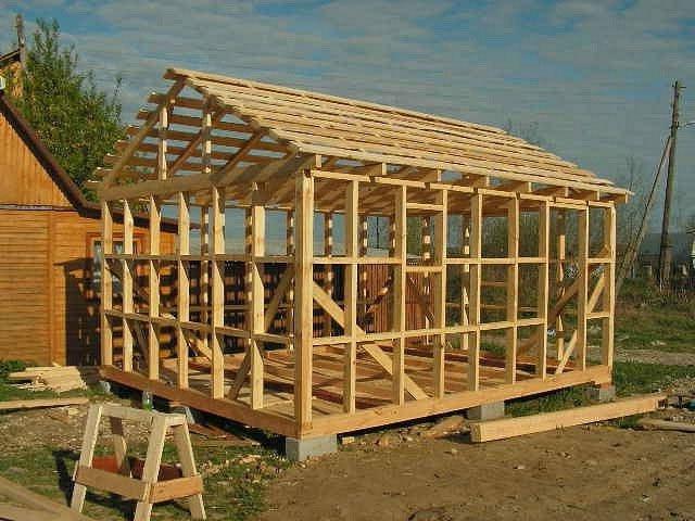 Frame hiša naredi sami brez gradbenih izkušenj